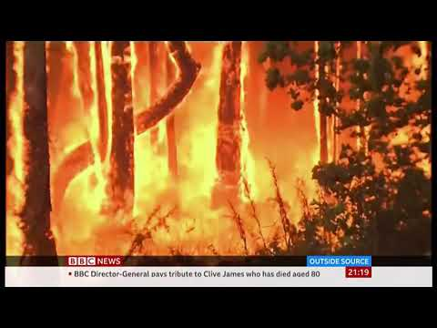 Weather Events 2019 – Bush fires – ultimate betrayal (Australia) – BBC – 27th November 2019