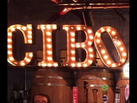 Cibo Bar & Restaurant Review 2015 Miami Forida