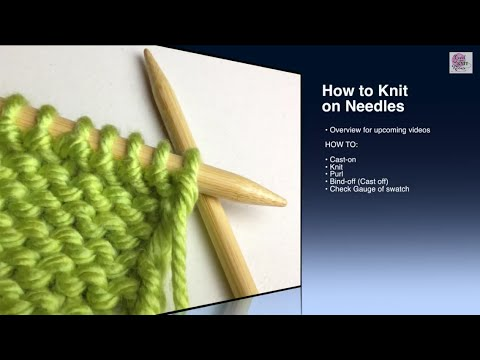 How To Purl P Stitch Beginner With Closed Captions Youtube