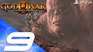 God of War 3 Remastered - 60fps Walkthrough Part 9 - Cronos Boss Fight & Aphrodite Sex Scene