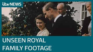 The Queen Unseen: New footage of the Royal Family to be shown in ITV documentary   ITV News