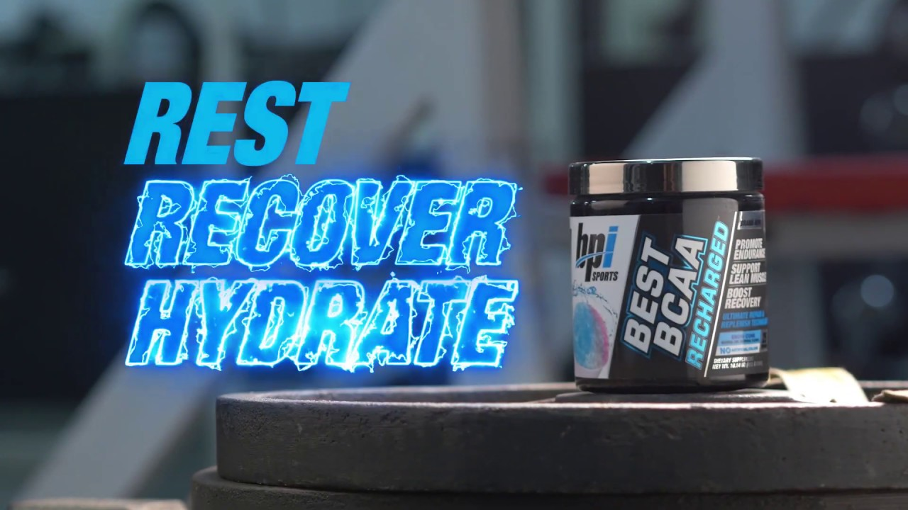 Best BCAA Recharged - Branched Chain Amino Acids & Electrolytes