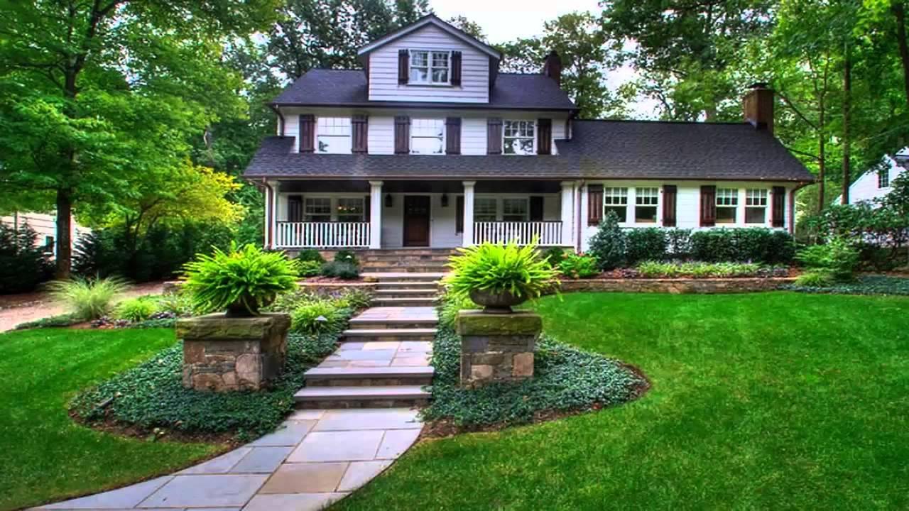 المناظر الطبيعية للحدائق المنزلية