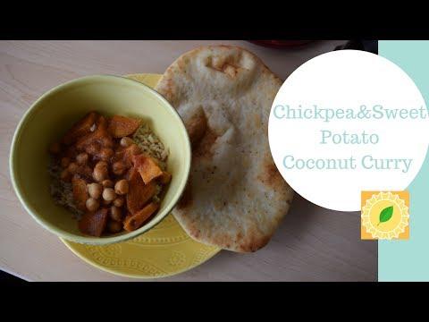Chickpea & Sweet Potato Curry Recipe