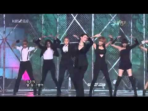 Live 091127 After School   Because Of You