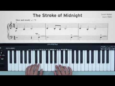 Piano: Initial Grade pieces and exercises - 2 The Stroke Of Midnight