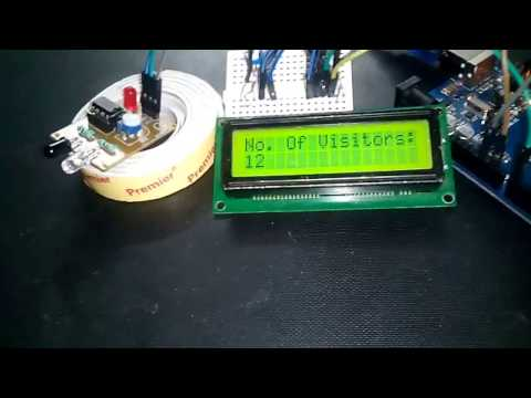 🎥VISITOR COUNTER ARDUINO PROJECT   COOL ARDUINO PROJECTS FOR BEGINNERS