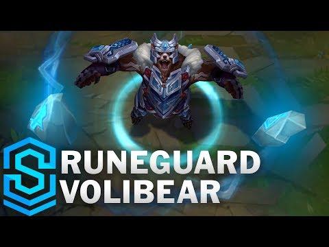 Runeguard Volibear (2020) Skin Spotlight - League of Legends