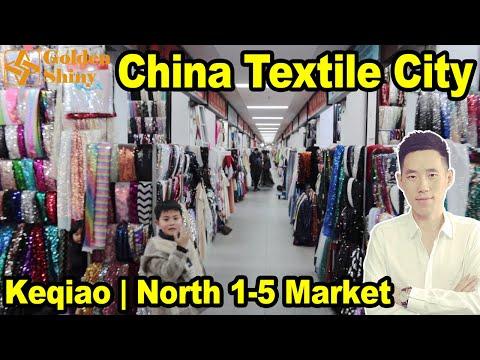 Shaoxing Keqiao Textile Wholesale Market | Goldenshiny Trading