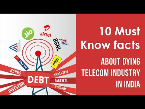 Telecom sector in India | Aircel Reliance Merger | Jio vs Airtel Jio vs Idea