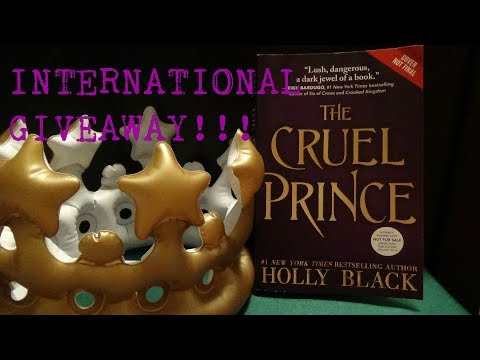 [GIVEAWAY ENDED] INTERNATIONAL ARC GIVEAWAY! THE CRUEL PRINCE BY HOLLY BLACK