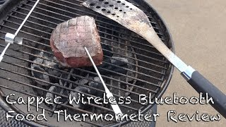 Cappec Wireless Bluetooth Food Thermometer Review in 4K UltraHD