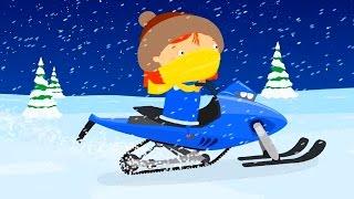Мультфильм про машинки - Доктор Машинкова - Автопогрузчик и дед Мороз - новогодние мультфильмы 🚕🎅