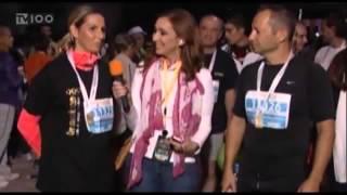 2ος Διεθνής Νυχτερινός Ημιμαραθώνιος Θεσσαλονίκης - TV100