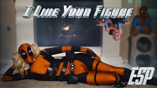 I Like Your Figure (En Español) ft Deadpool, Spiderman, Black Cat, Cap America, Black Widow & más!