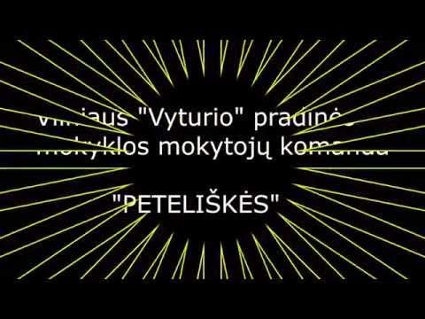 """Vilniaus """"Vyturio"""" pradinės mokyklos komanda"""