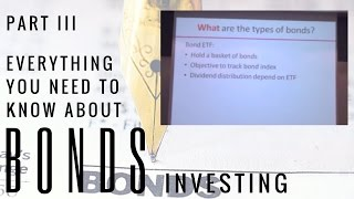 Investing in Bonds 3 - Types of Bonds Available to Retail Investors