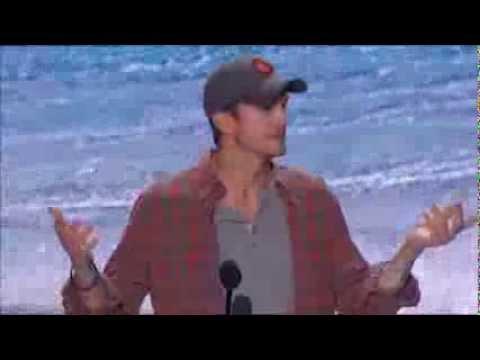 Ashton Kutcher Speech at 2013 Teen Choice Awards