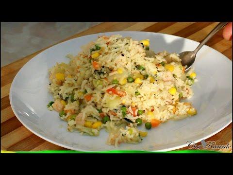 Jamaican Seasoned Rice Recipe   Recipes By Chef Ricardo
