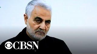 Qassem Soleimani, head of Iran's elite military force, dead in Baghdad air strike