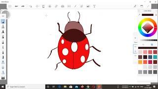 ladybug easy drawing draw simple
