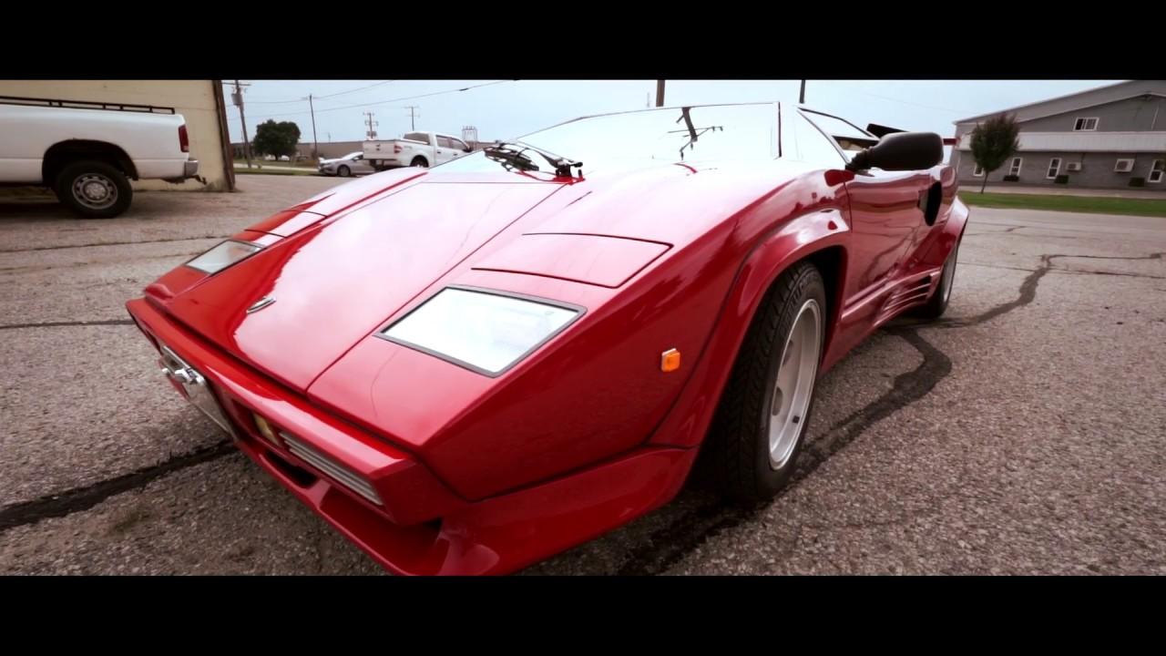 Lamborghini Countach Keul Body Custom Replica Youtube