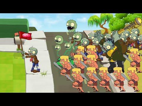 Plants Vs Zombies GW Animation  - Episode 6 -  Super Bloomerang Vs  Transparent (Clash Of Clans)