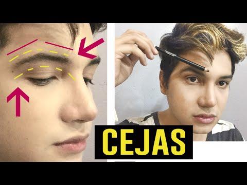 COMO DEPILARSE LAS CEJAS HOMBRES / CEJAS...