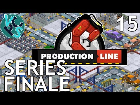 Production Line EP15 - Series Finale - Alpha 1.43 Manufacturing Tycoon Gameplay