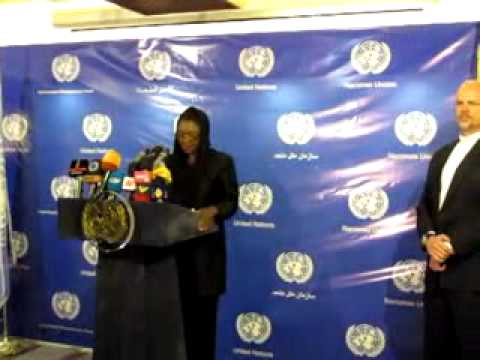 Remarks by UN Under-Secretary-General for Humanitarian Affairs, Valerie Amos
