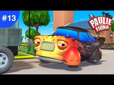 Paulie y Fiona 2 | 13 Repiquetear Y Rodar | Caricaturas para Niños | Caricaturas en Español