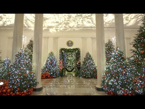 Honey German - White House Unveils Christmas Decorations
