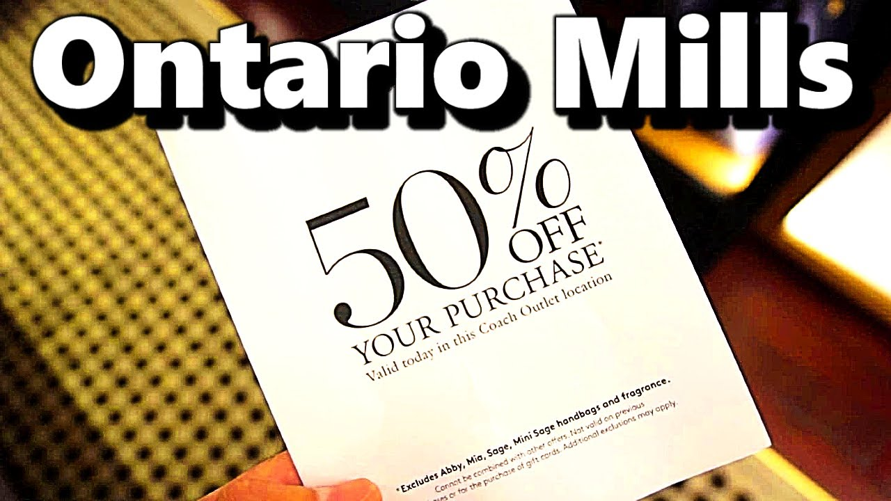 30b155d460c Ontario Mills Outlet