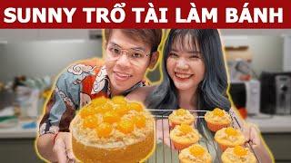 @Sunny Trương Làm bánh Bông Lan Trứng Muối tặng ba mẹ | Oops Banana V10g 189