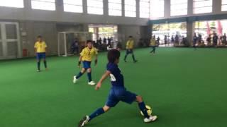 2017年4月23日のU-15SorrisoCUPの決勝戦! 沖縄東...