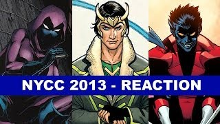 Stephanie Brown joins New 52, LAgent of Asgard, Nightcrawler returns - NYCC 2013 Review