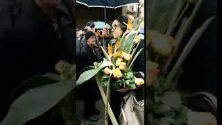Verica Šerifović stigla na Novo groblje - 22.02.2019.