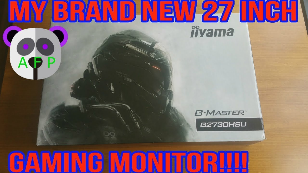iiyama g master g2730hsu b1 brand new 27 inch 1080p gaming monitor unboxing and review youtube. Black Bedroom Furniture Sets. Home Design Ideas