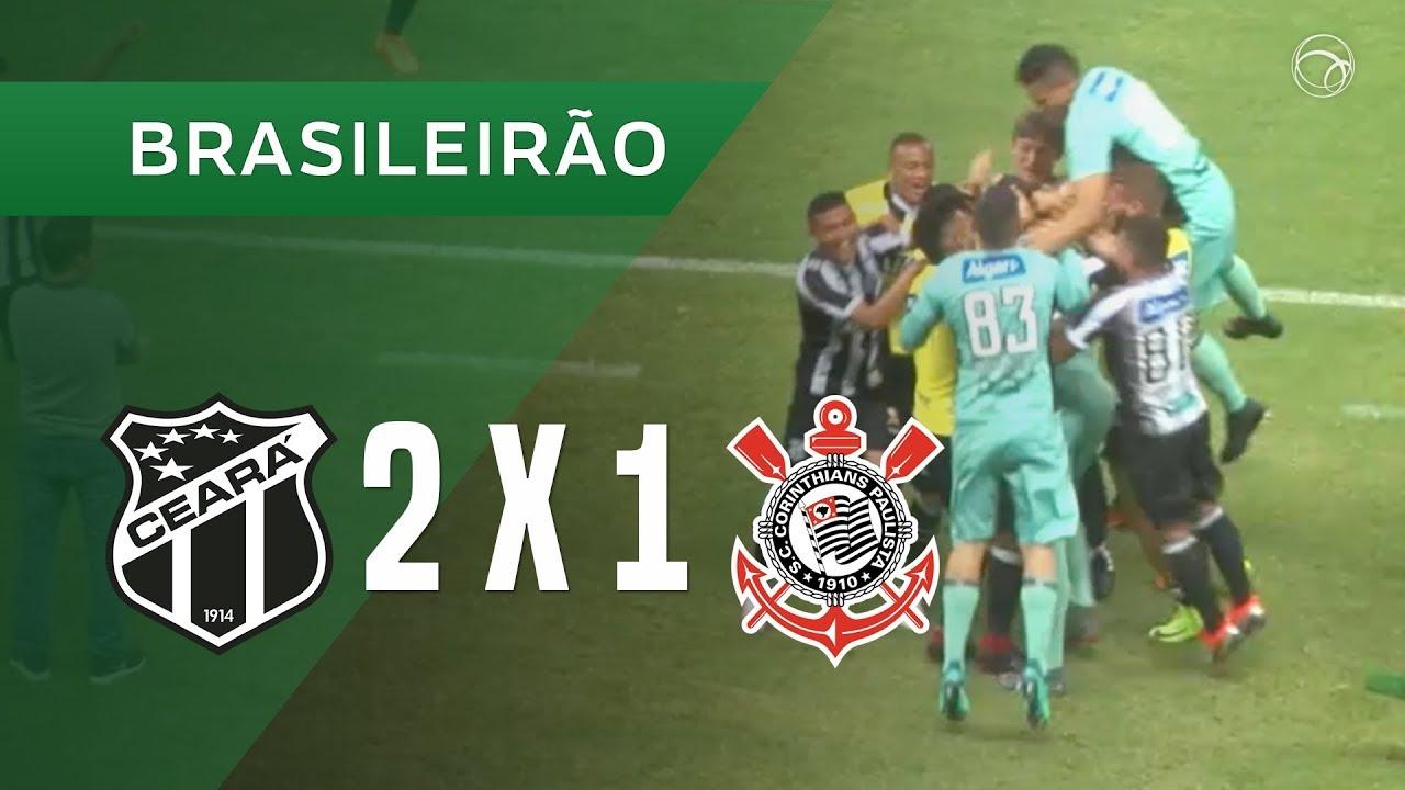 Ceara 2 X 1 Corinthians Gols 05 09 Brasileirao 2018 Youtube