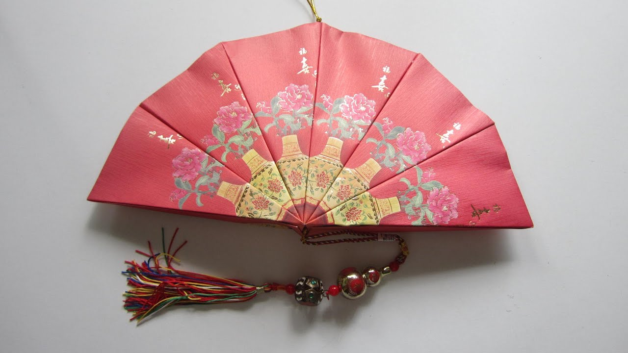 Cny tutorial no 22 12 unit red packet hongbao paper for Ang pow decoration craft work