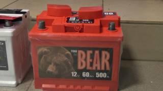 Тестирование аккумуляторов Bars и Tyumen BatBear Тюменский Медведь