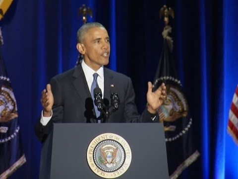 Obama: Yes We Can, Yes We Did