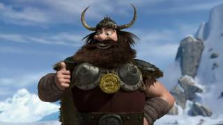 HOW TO TRAIN YOUR DRAGON - Dragon-Viking Games Vignettes: Bobsled