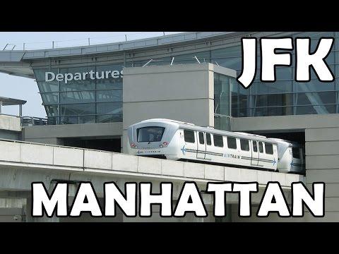 COMO IR DO AEROPORTO JFK DE NEW YORK PARA MANHATTAN DE METRO