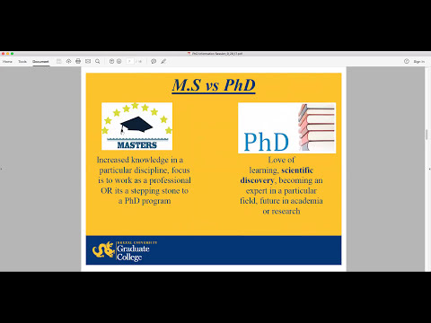 Applying to Doctoral Degree Programs in the USA
