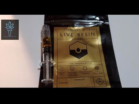How use Live Resin Syringe with a Pax 3