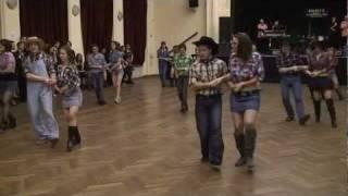 Szent Orsolya Gimnázium - Iskolabál - 2012. - Sopron - Cotton Eye Joe - meglepetés tánc