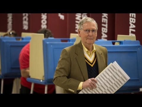 Exit polls: How Mitch McConnell won Kentucky
