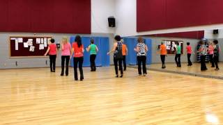 In A Little Spanish Town - Line Dance (Dance & Teach in English & 中文)