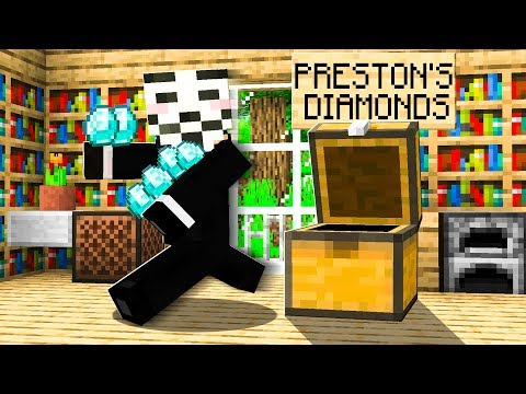Someone Stole ALL of my DIAMONDS in Minecraft...